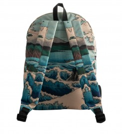 Mr. Gugu & Miss Go, The Sea of Satta backpack Thumbnail $i