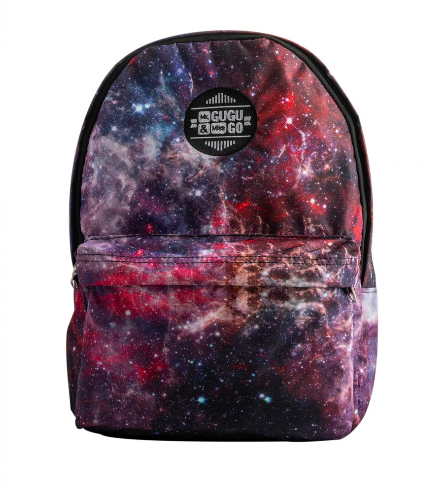 Mr. Gugu & Miss Go, Deep Red Nebula backpack Image $i