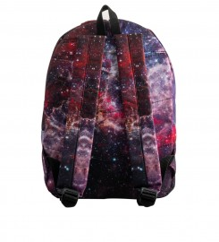 Mr. Gugu & Miss Go, Deep Red Nebula backpack Thumbnail $i