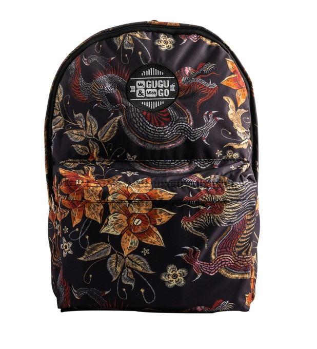 Japanese Dragon backpack Miniatura 1