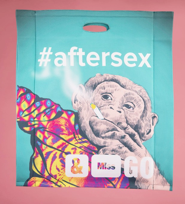 Aftersex shopper bag Miniatura 2
