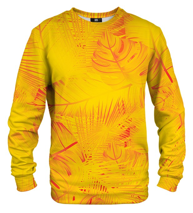 Yellow Jungle sweater Miniature 1