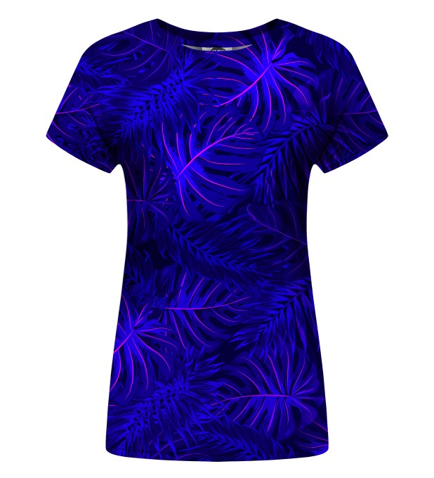 Tropical Dark Blue womens t-shirt Miniatura 1
