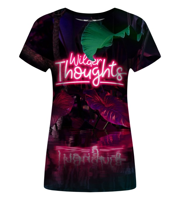 Wilder Thoughts womens t-shirt Miniatura 1