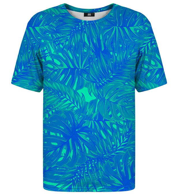 Blue Jungle t-shirt Miniatura 1
