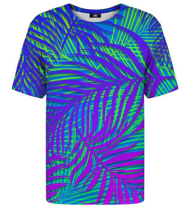 Blue Palm t-shirt Miniaturbild 1