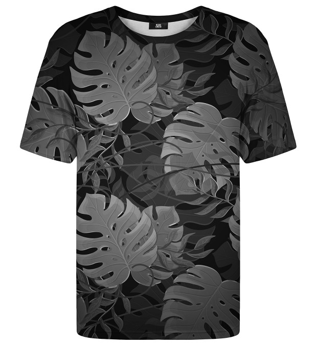 Monstera Black t-shirt Miniatura 1
