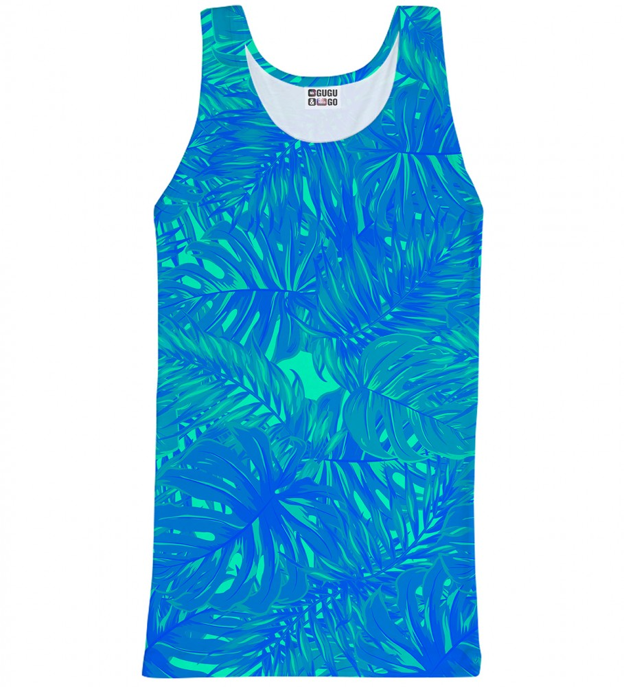 Mr. Gugu & Miss Go, Blue Jungle tank-top Image $i