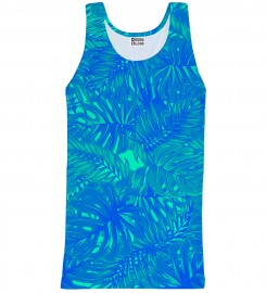 Mr. Gugu & Miss Go, Blue Jungle tank-top Thumbnail $i