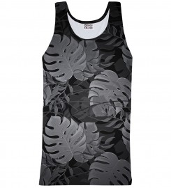 Mr. Gugu & Miss Go, Monstera Black tank-top Miniatura $i