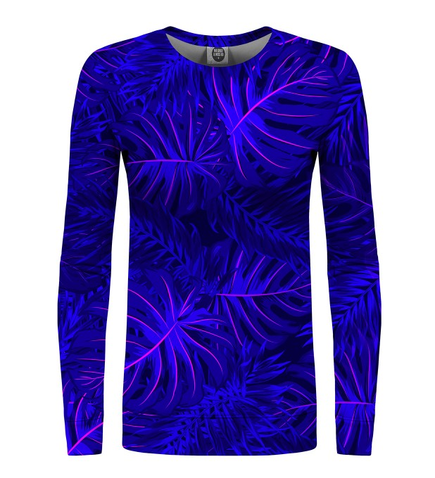 Tropical Dark Blue womens sweater Miniatura 1