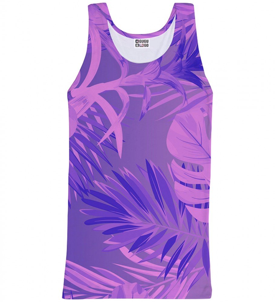 Mr. Gugu & Miss Go, Tropical Violet tank-top Image $i