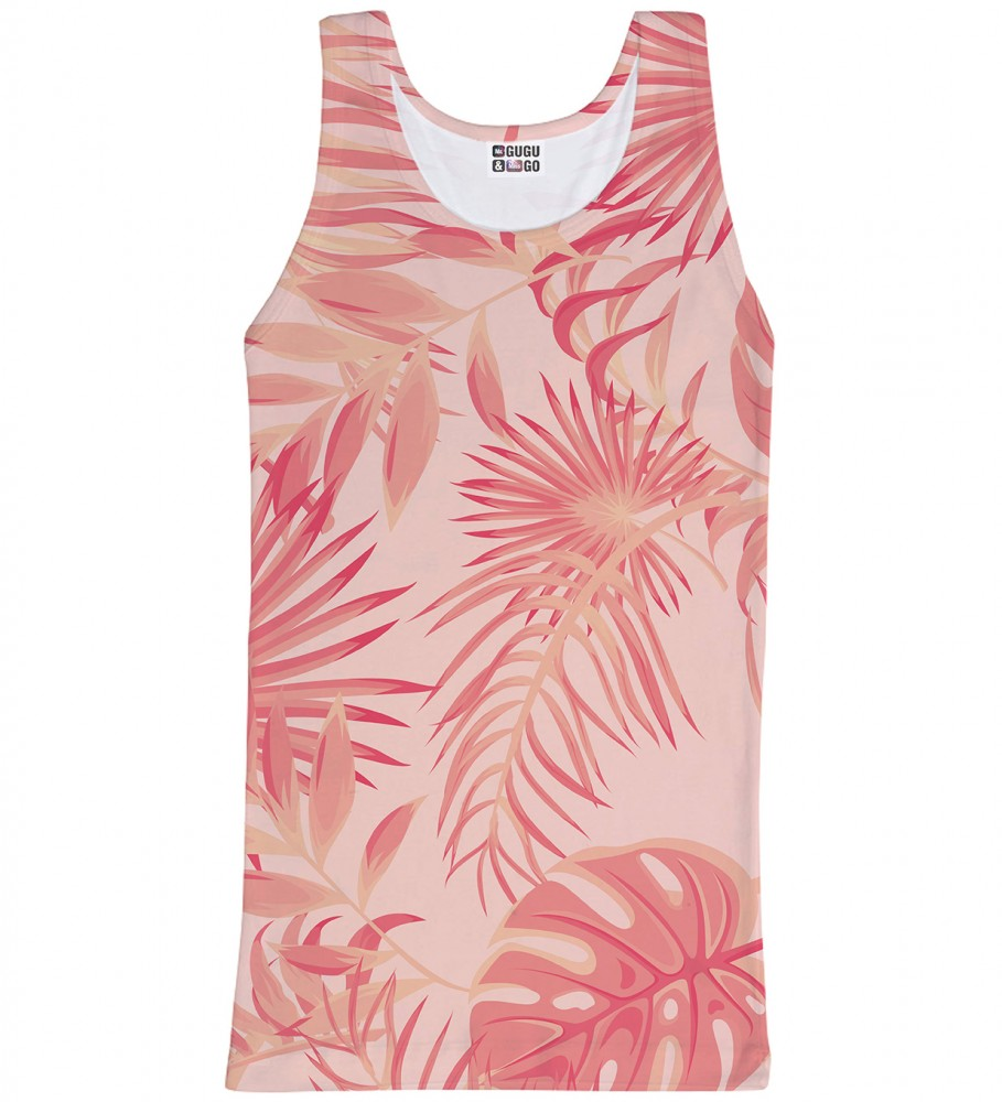 Mr. Gugu & Miss Go, Tropical Pink tank-top Image $i