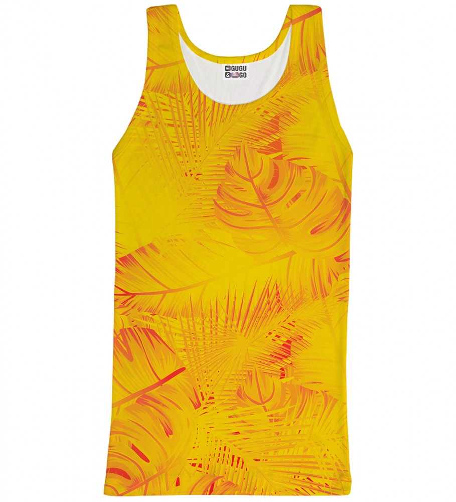 Mr. Gugu & Miss Go, Yellow Jungle tank-top Imagen $i