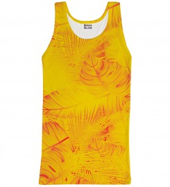 Mr. Gugu & Miss Go, Yellow Jungle tank-top Miniatura $i