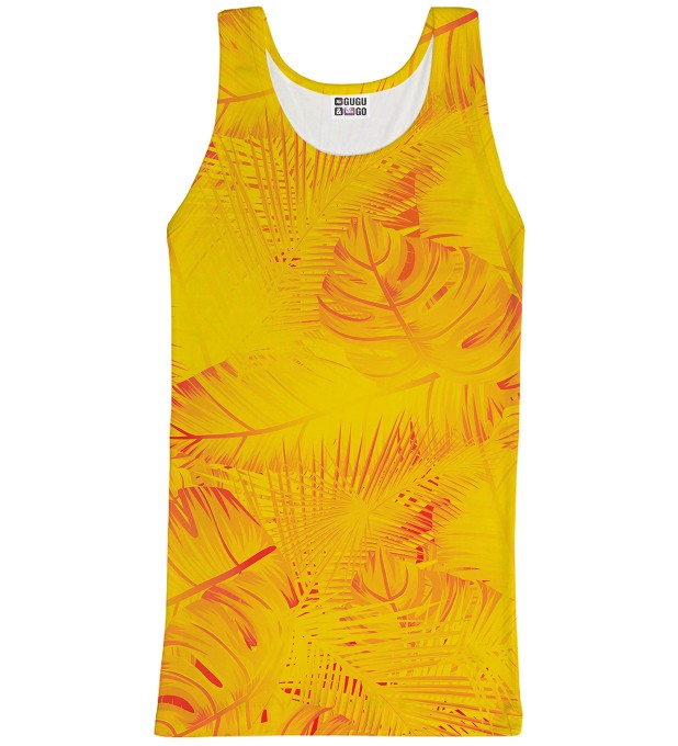 Tank-top ze wzorem Yellow Jungle Miniatury 1
