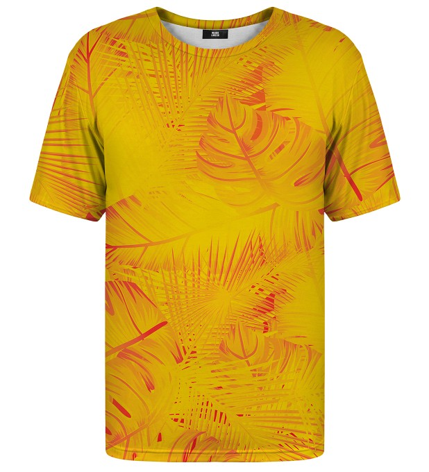 Yellow Jungle t-shirt Miniatura 1