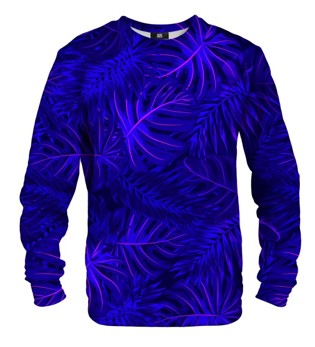Tropical Dark Blue sweatshirt Miniaturbild 1
