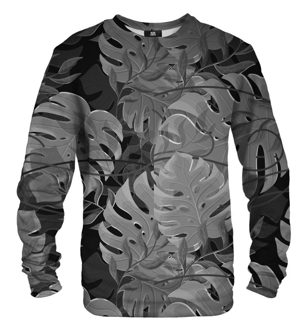 Monstera Black sweater Miniatura 1
