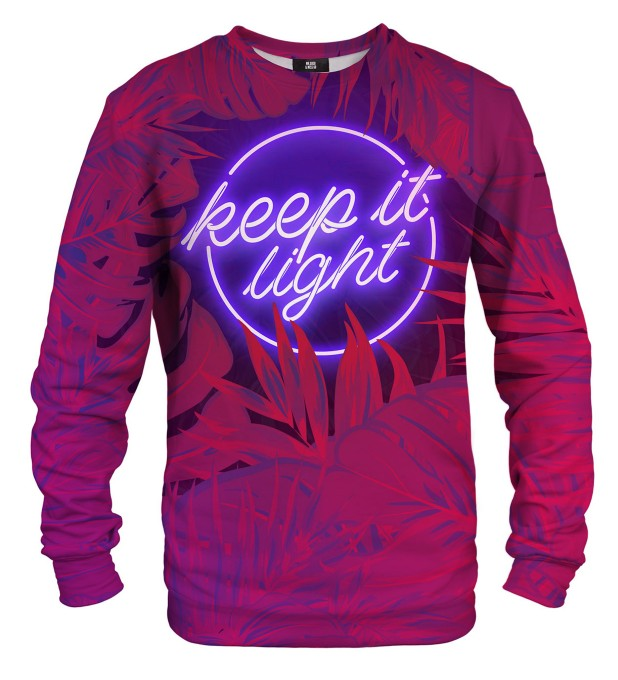 Bluza ze wzorem Keep it Light Miniatury 1