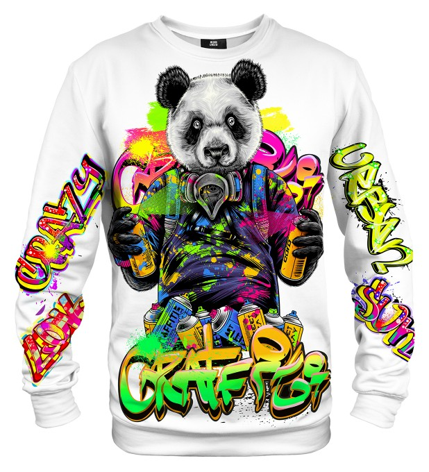 Graffiti Panda sweater Miniature 1
