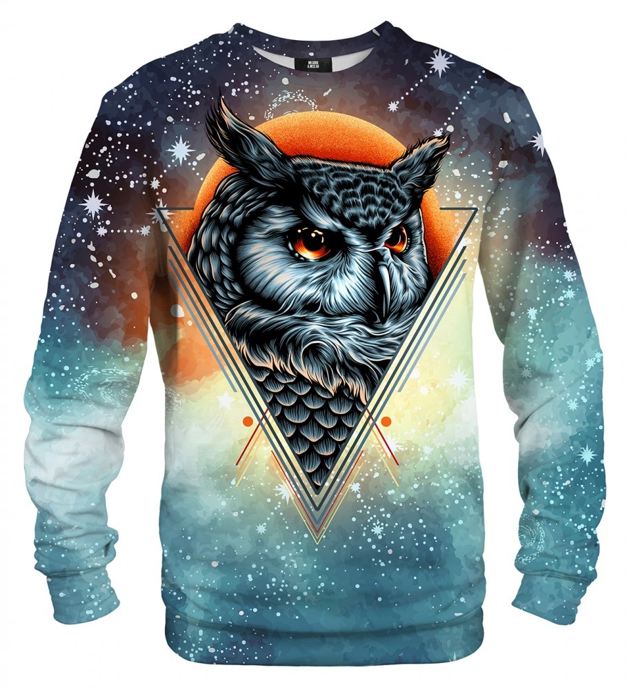Mr. Gugu & Miss Go, Owl Constellation sweater Imagen $i