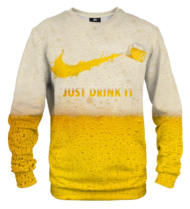 Just Drink It sweatshirt Miniaturbild 1