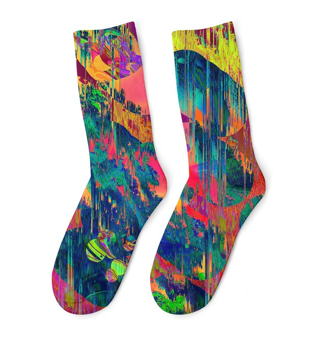 Wet Paint midi socken Miniaturbild 1