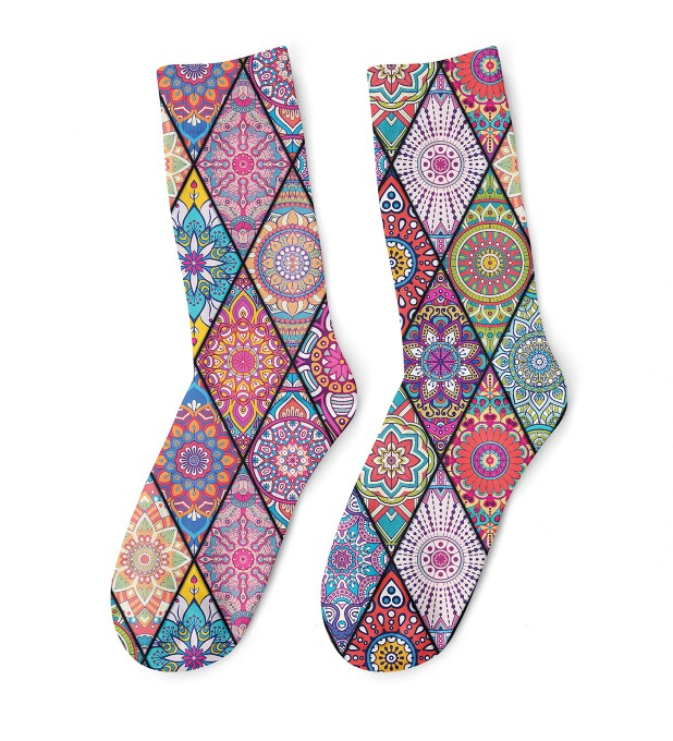 Stained glass midi socken Miniaturbild 1