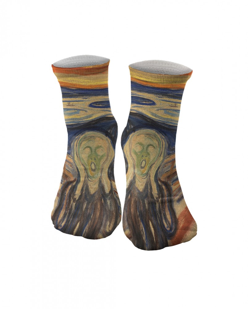Mr. Gugu & Miss Go, The Scream chaussettes Image $i