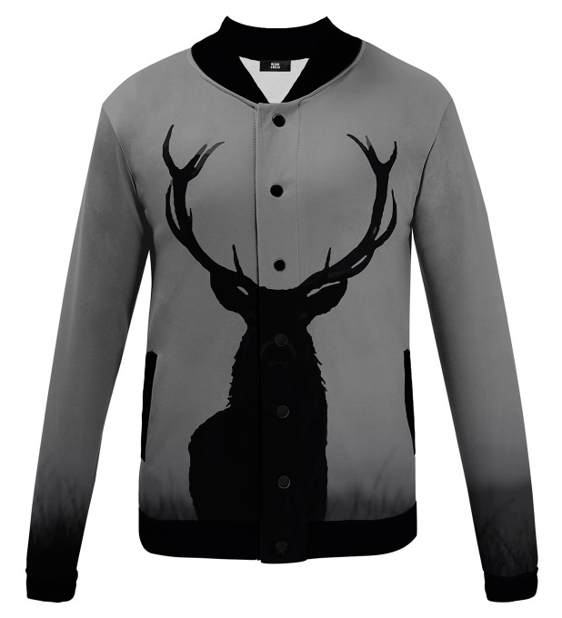 Wild deer baseball jacket Thumbnail 1