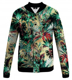 Mr. Gugu & Miss Go, Tropical Jungle baseball jacket Miniatura $i