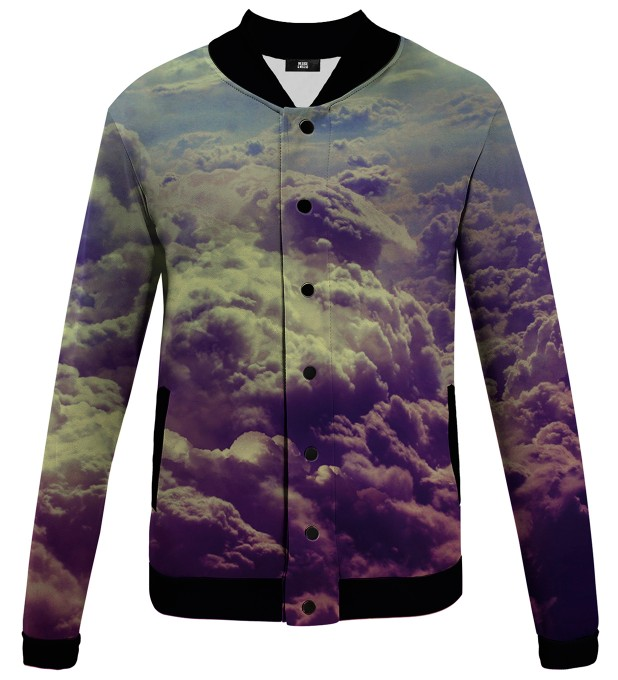 clouds veste de baseball Miniature 1