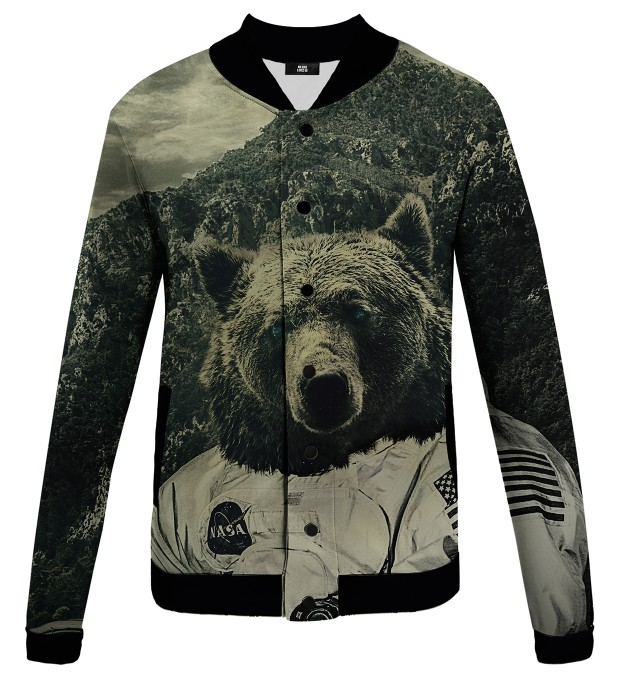 NASA Bear baseball jacket Miniatura 1