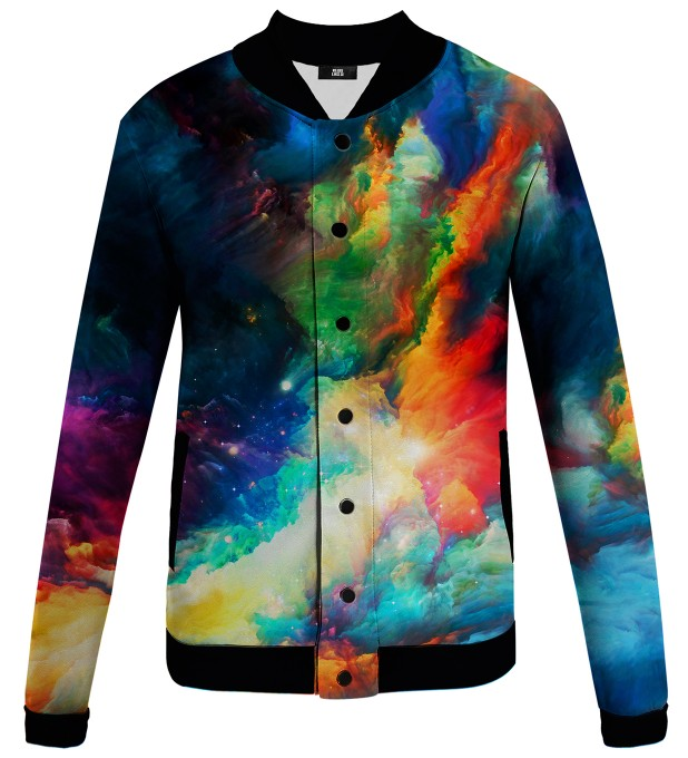 Colorful Space baseball jacket Thumbnail 1