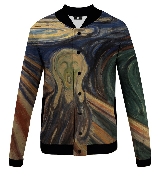 The Scream baseball jacket Miniature 1