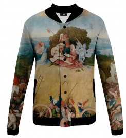 Mr. Gugu & Miss Go, The Hay Wain baseball jacket Miniature $i