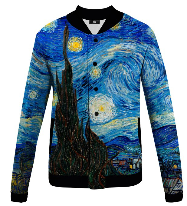 The Starry Night baseball jacket Thumbnail 1