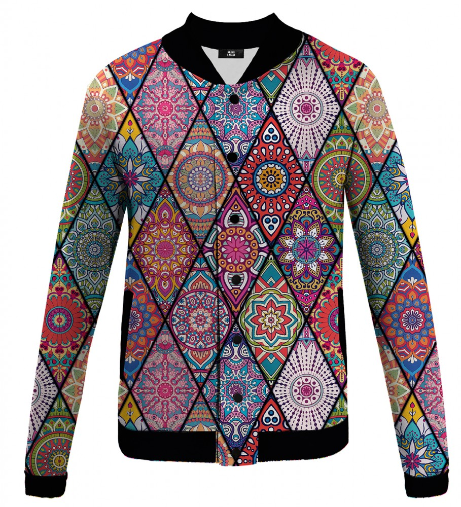 Mr. Gugu & Miss Go, Stained glass baseball jacket Image $i