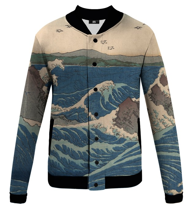 Naruto Whirlpools baseball jacket Miniature 1
