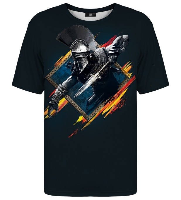 Greek Warrior t-shirt Miniaturbild 1