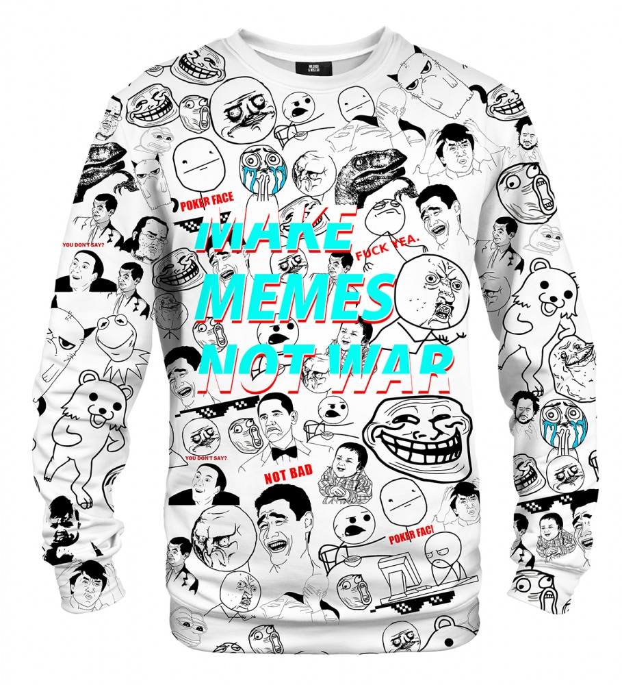 Mr. Gugu & Miss Go, Classic Memes sweater Image $i