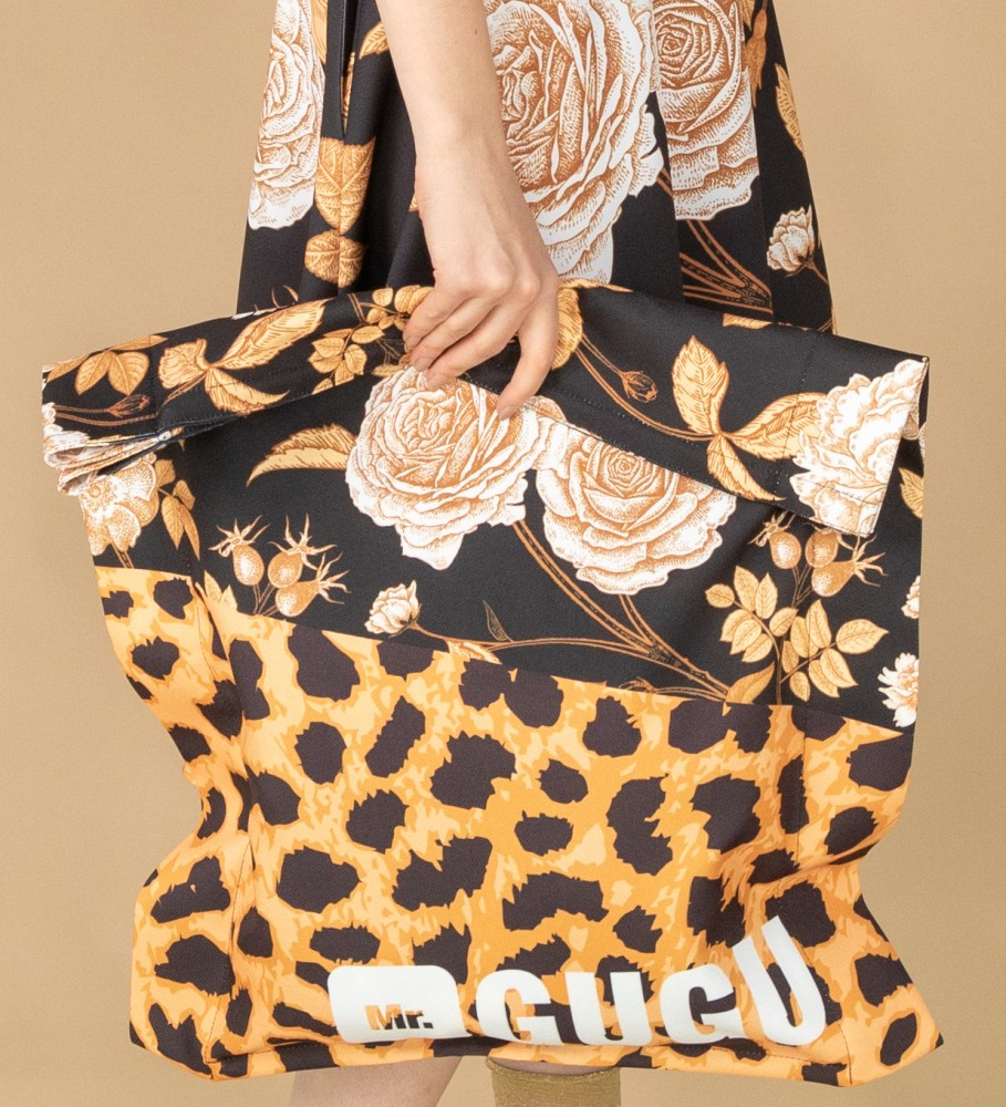 Mr. Gugu & Miss Go, Panther without spikes beach bag Image $i
