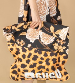 Mr. Gugu & Miss Go, Panther without spikes beach bag Thumbnail $i