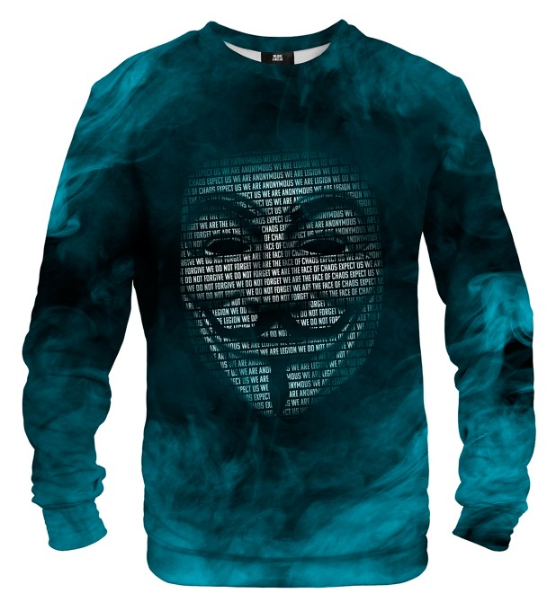 Anonymous mask sweatshirt Miniaturbild 1