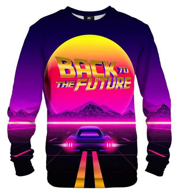 Bluza ze wzorem Back to the Future Miniatury 1