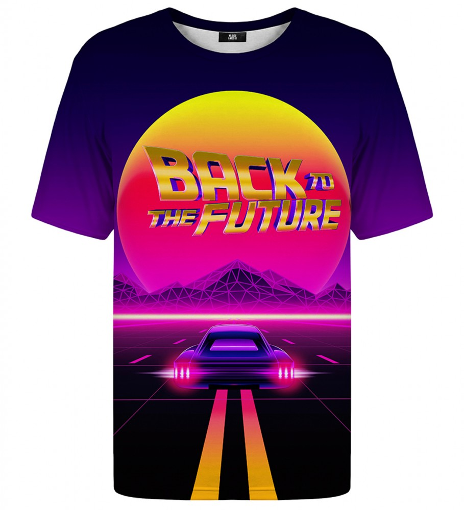 Mr. Gugu & Miss Go, Back to the Future t-shirt Imagen $i