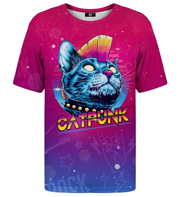 Catpunk t-shirt Miniature 1
