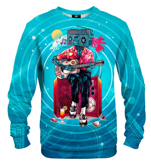 Music Wave sweatshirt Miniaturbild 1