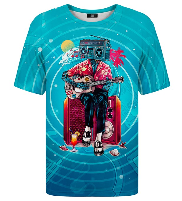 Music Wave t-shirt Thumbnail 1